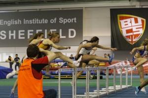 BUCS taking photos of hurdles